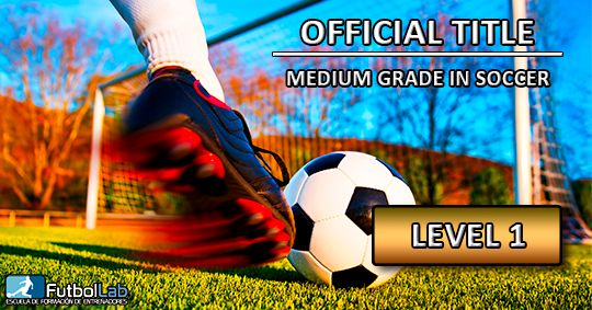 Course CoverOfficial Title of Middle Grade in Soccer Level 1