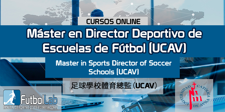 Course CoverMaster Sports Director of Soccer Schools (UCAV)