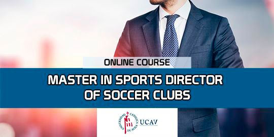 Course CoverMaster Sports Director of Soccer Clubs