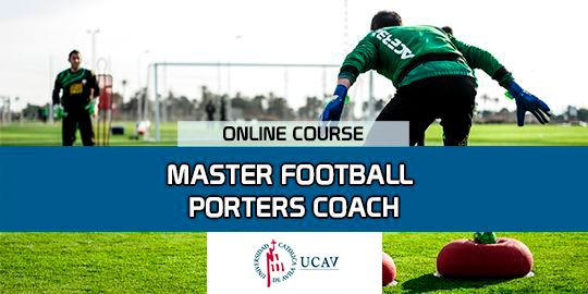 Course CoverMaster in Soccer Goalkeeping Coach (Catholic University of Ávila)