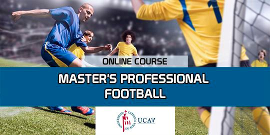 Course CoverMaster in Soccer Professional (Catholic University of Ávila)
