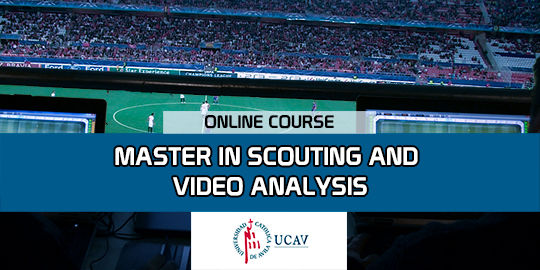 Course CoverMaster in Scouting and Video Analysis (Catholic University of Avila)