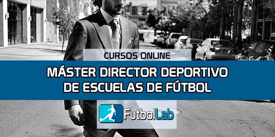 Portada del curso Máster Director Deportivo de Escuelas de Fútbol
