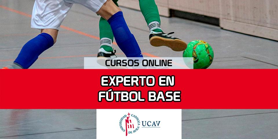 Portada del curso Experto en Fútbol Base (Universidad Católica de Ávila)