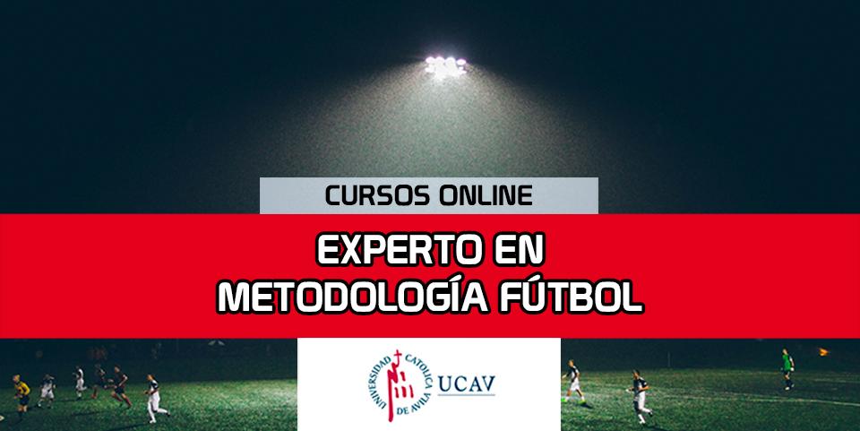 Portada del curso Experto Metodología en Fútbol (Universidad Católica de Ávila)