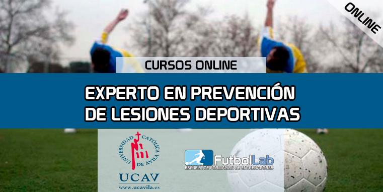 Copertura del corsoEsperto di prevenzione degli infortuni sportivi (UCAV)