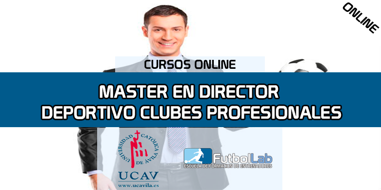 Copertura del corsoMaster in Sports Director Professional Clubs (UCAV)