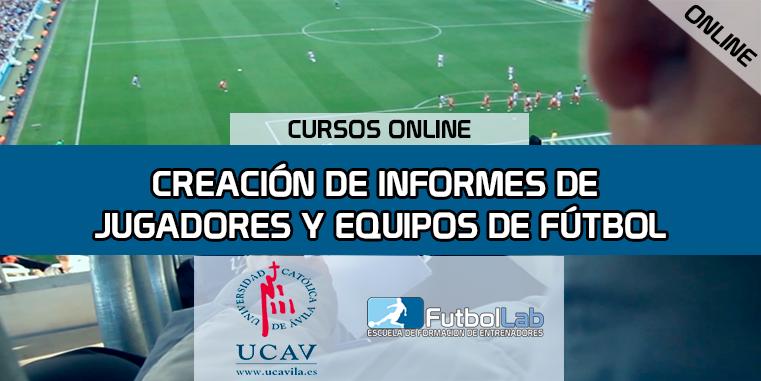 Capa do CursoRelatórios de jogadores e equipes de futebol (UCAV)