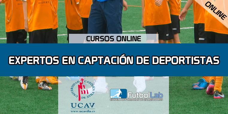 Capa do CursoEspecialista em Recrutamento Esportivo (UCAV)