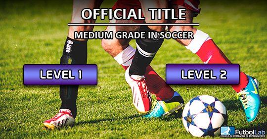 Capa do CursoGrau oficial de nível médio em futebol