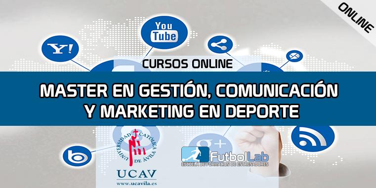 Capa do CursoMestre em Gestão, Comunicação e Marketing no Esporte (UCAV)