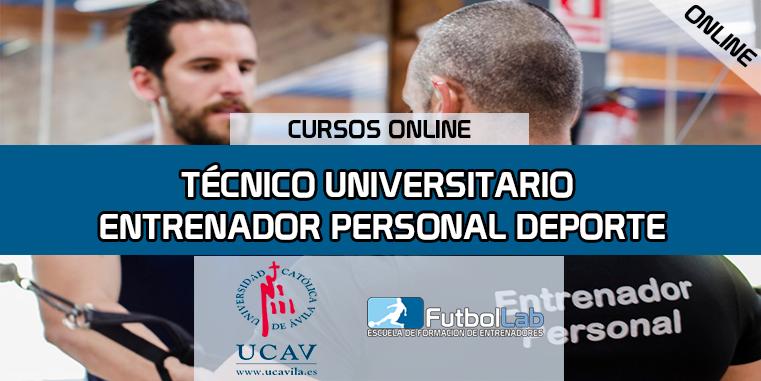 Capa do CursoInstrutor pessoal de esportes para técnicos universitários (UCAV)