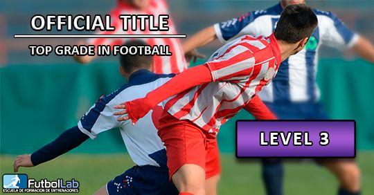 Обложка курсаОфициальная степень по футболу